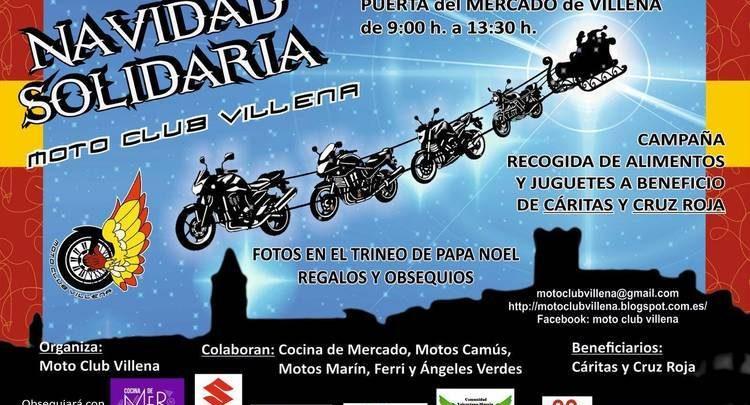 El Sábado Iii Moto Club Su Este Celebra Villena Navidad Solidaria c5ARjL3q4