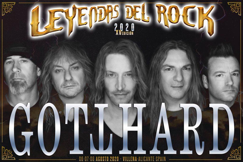 Gotthard: la mayor banda suiza, en Leyendas del Rock - El Periódico de Villena