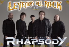 Rhapsody Leyendas del Rock 2020