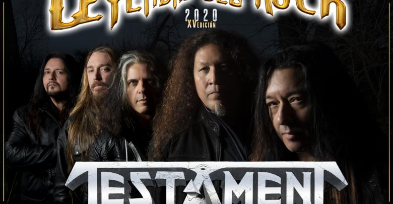 Testament Leyendas del Rock 2020