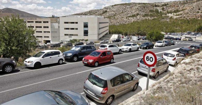 aparcamiento hospital elda