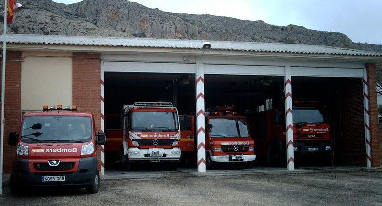 bomberos villena