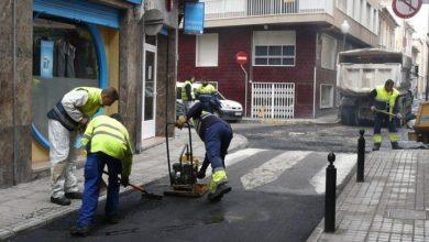 asfaltado calles villena