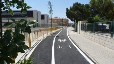 carril bici Villena