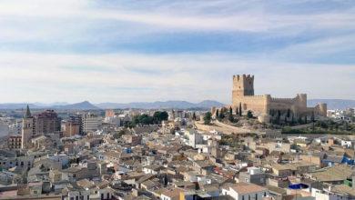 Castillo centro villena