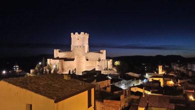 Villena de noche